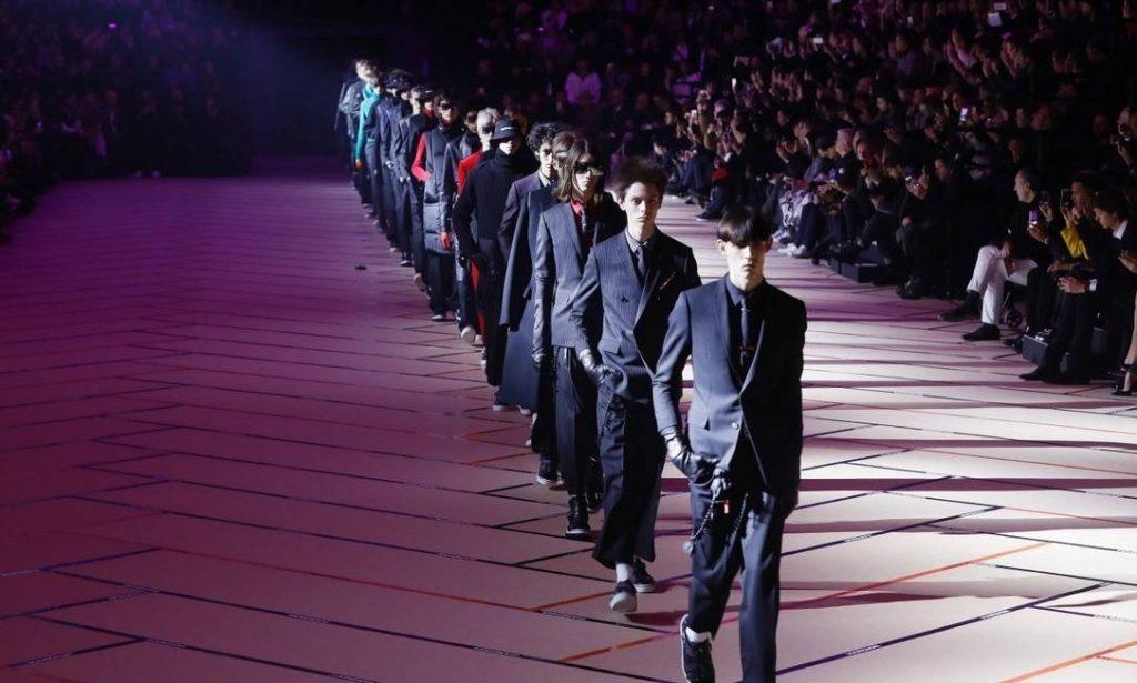 Dior apresenta sua coleção Masculina Inverno 2018