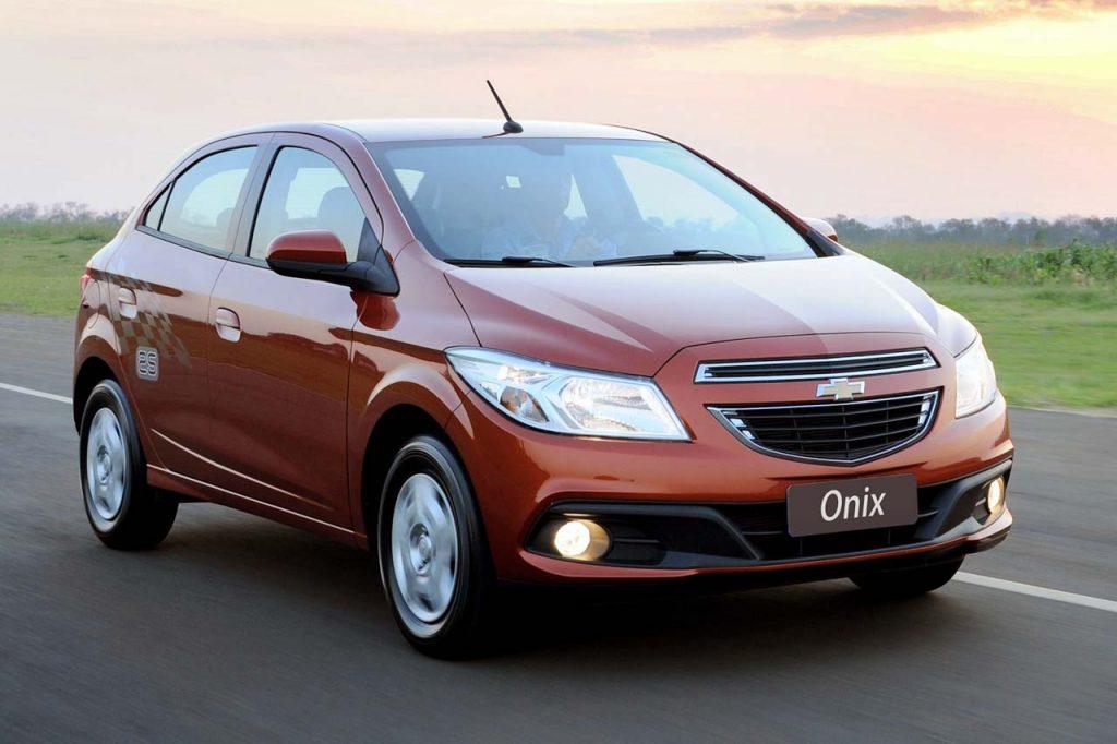 Chevrolet Onix é o carro mais vendido na primeira quinzena de 2018