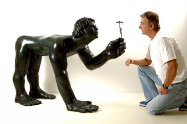 Morre artista plástico Florian Raiss conhecido por suas esculturas fantásticas