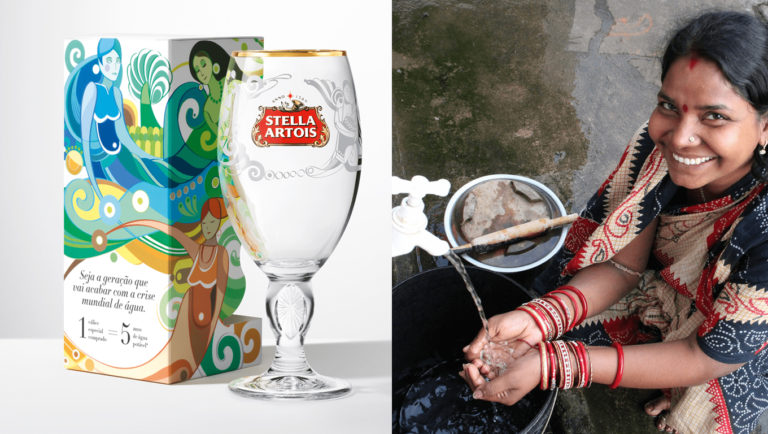 Stella Atois e ong de Mat Damon doam água potável a comunidades carentes