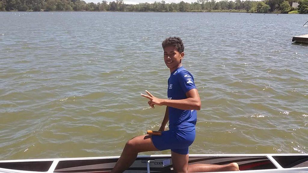 Morre medalhista brasileiro da Categoria Menor de Canoagem, Ualef Silva Moreira