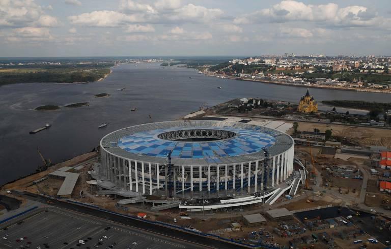 Russia entrega apenas metade dos estádios para a Copa do Mundo 2018