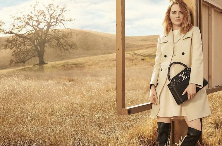 Emma Stone é a nova estrela das campanhas da Luis Vuitton
