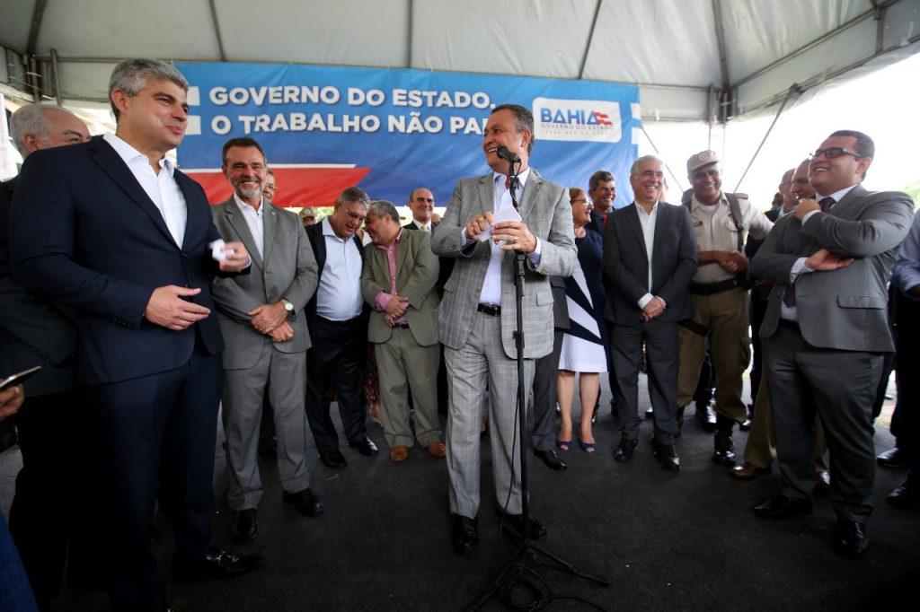 Polícia Militar da Bahia terá frota 100% renovada, garante Governador Rui Costa