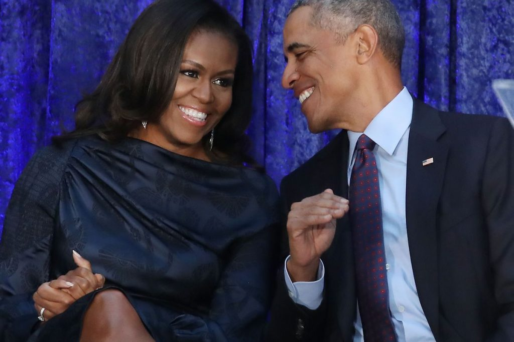Casal Barack e Michelle Obama no NETFLIX
