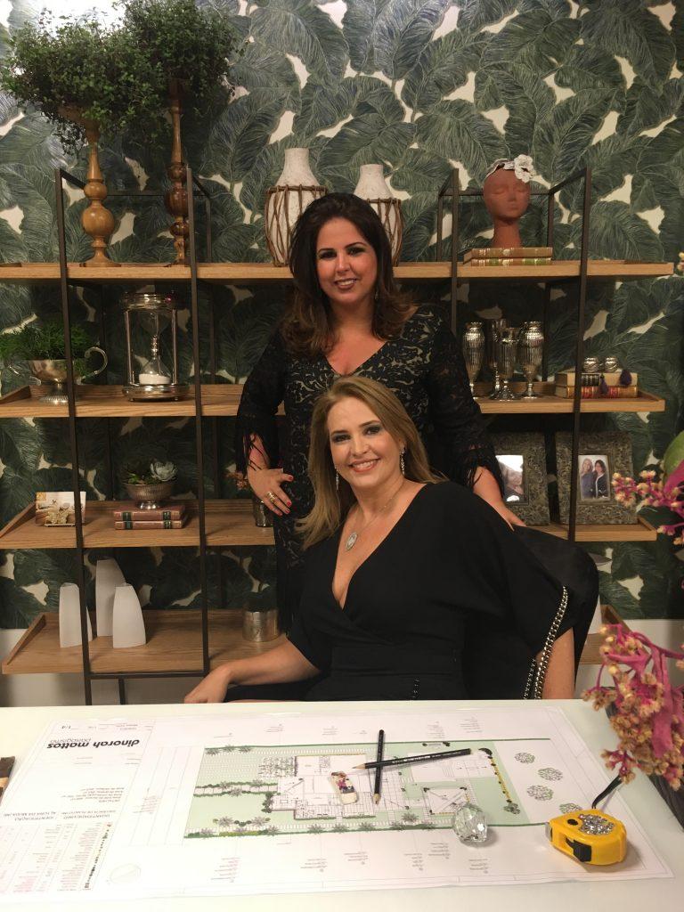 Karina Souza e Carine Guimarães da CK Estilo dão dicas de decoração para o inverno