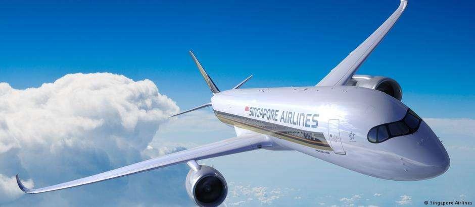 Singapore Airlines promete vôo sem escalas de Cingapura para Nova Yorque