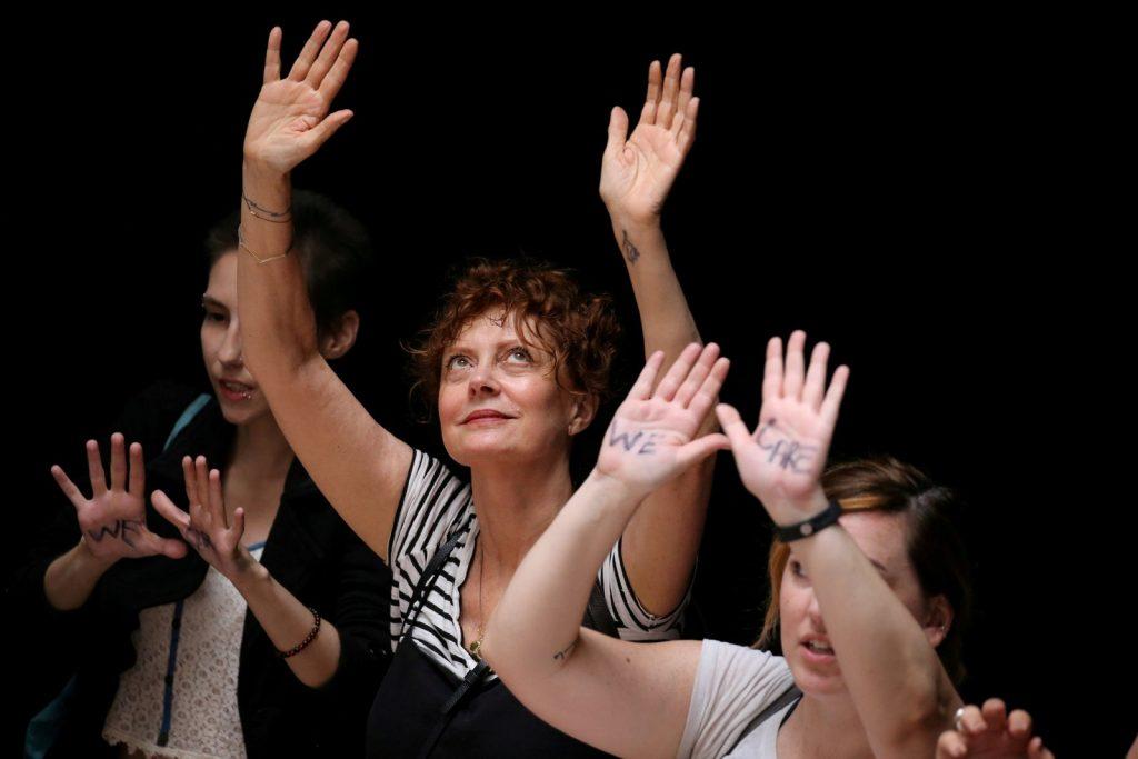 Atriz Susan Sarandon é presa pelo governo de Donald Trump