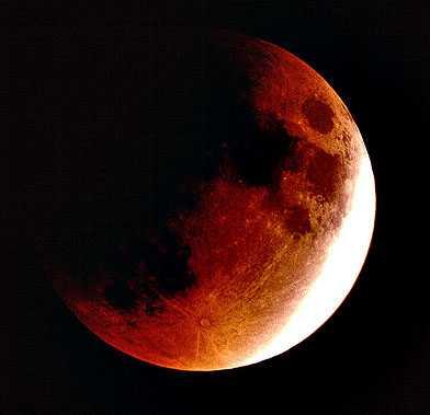 Eclipse Lunar mais longo no céu hoje