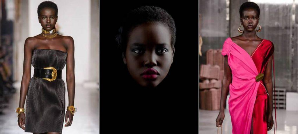 Sudanesa Adut Akech é a nova cara da marca Chanel