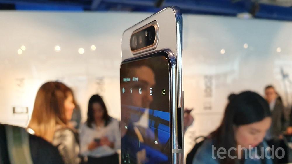 Samsung A80 inova com câmera retrátil