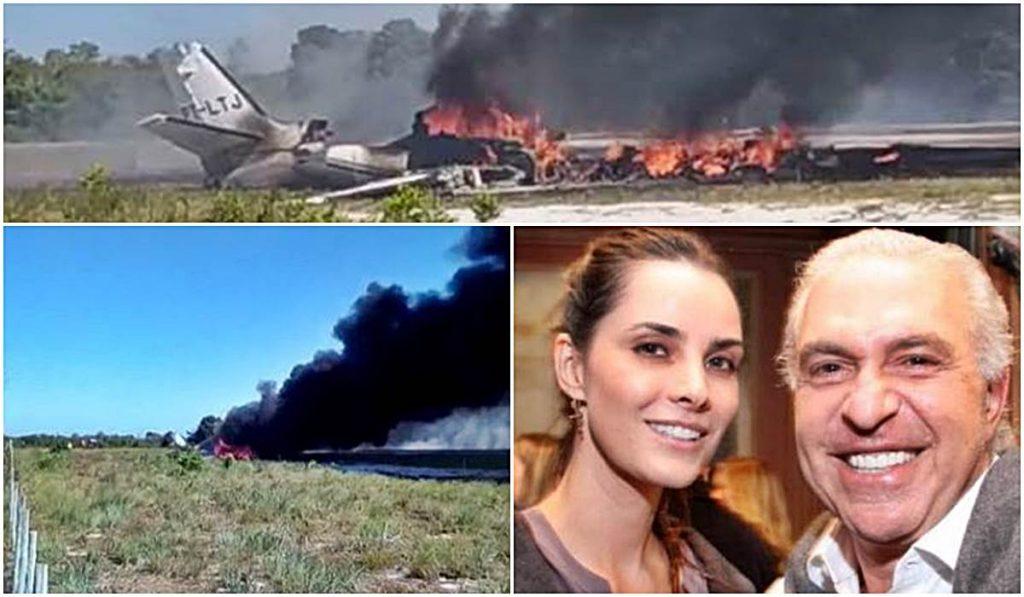 Avião do dono do Banco Clássico cai em Maraú, na Bahia e mata uma pessoa