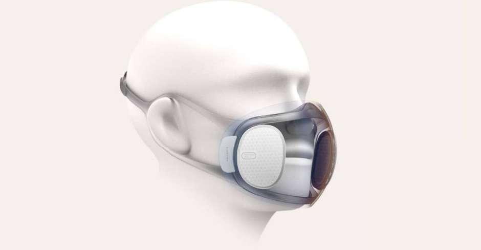 Empresa chinesa desenvolve máscara que se desinfeta sozinha