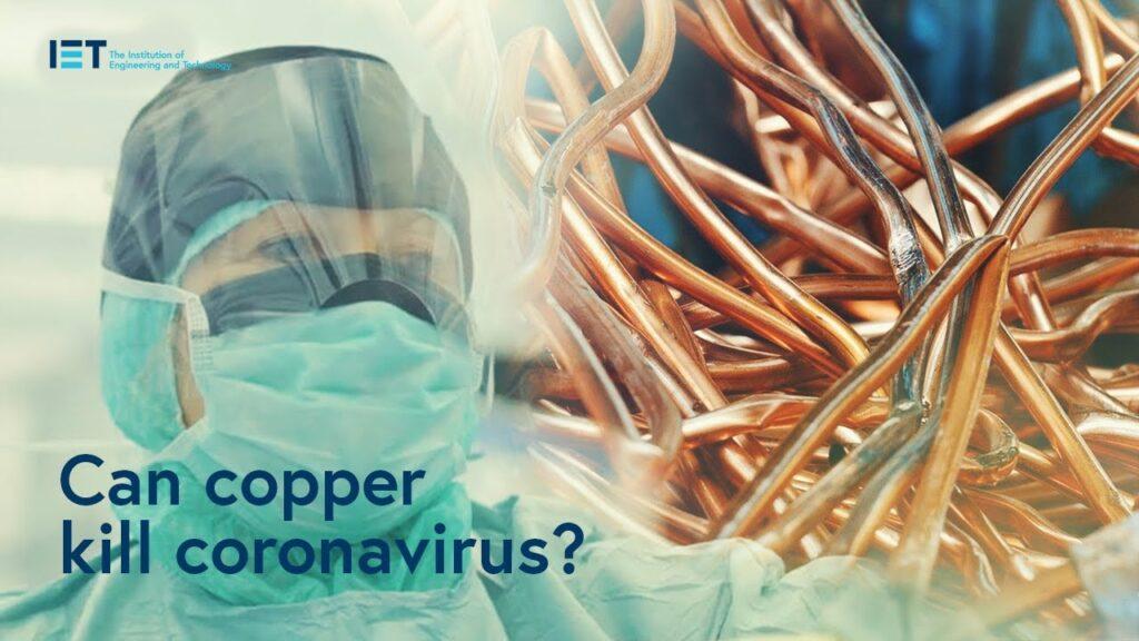 Tinta com cobre promete ambiente livre do Coronavírus