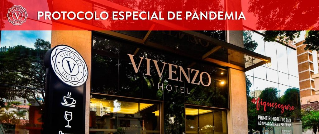 Hotel Vivenzo Savassi é o primeiro no Brasil adaptado à Pandemia do Coronavírus