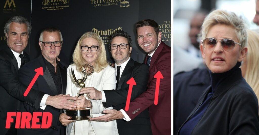 Ellen DeGeneres demite três diretores do seu programa acusados de abusos