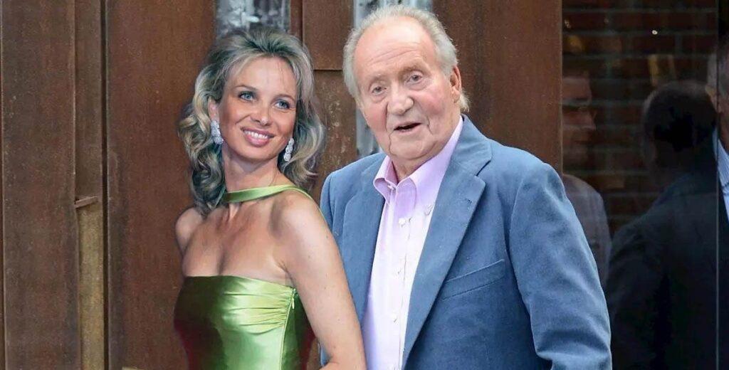 A mulher por trás do exílio do Rei Emérito da Espanha Juan Carlos