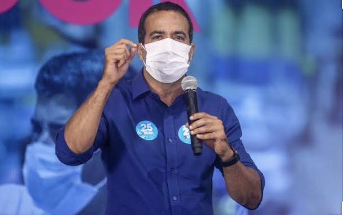 Bruno Reis afirma que 20% dos moradores de Salvador já contraíram Coronavirus