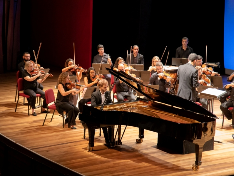 Beethoven Fest com a Orquestra Rio Sinfônica na Cidade das Artes aos sábados