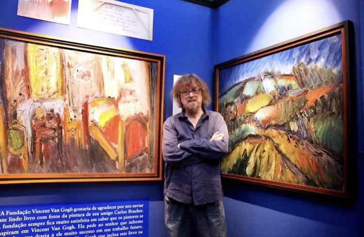 Pintor Sérgio Bracher faz live em homenagem a Van Gogh