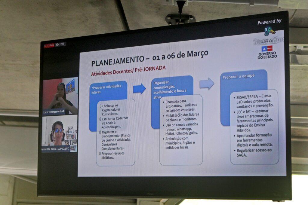 Está no ar a TV Educa Bahia, com conteúdos exclusivos para os estudantes