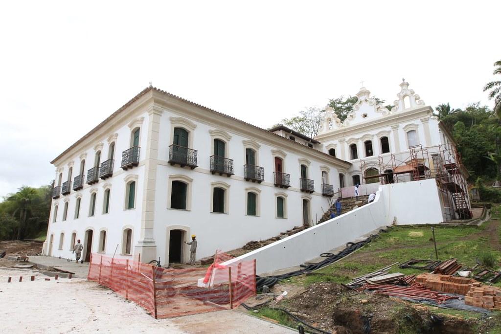 Requalifacação do Museu do Recôncavo Wanderley de Pinho 70% concluídas