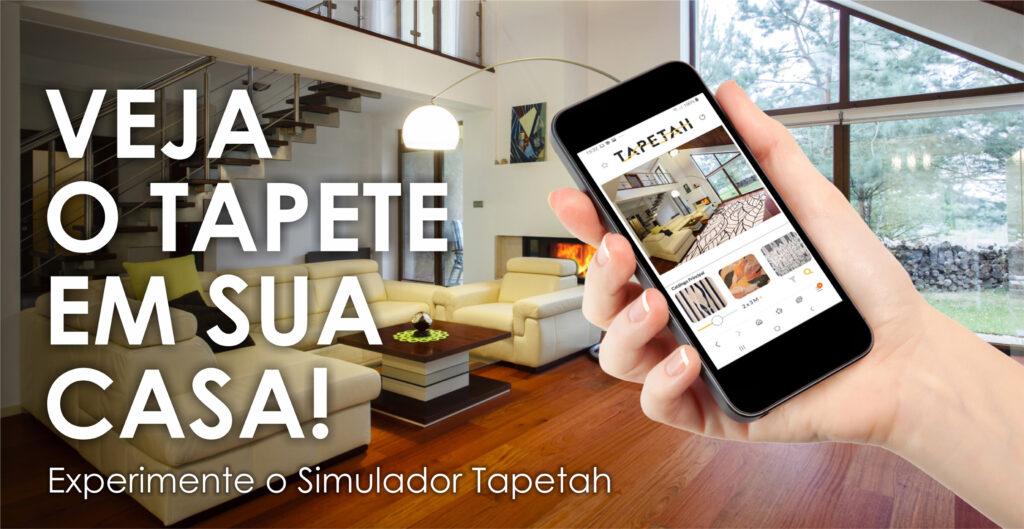 Tapetah lança simulador virtual para escolha de tapetes