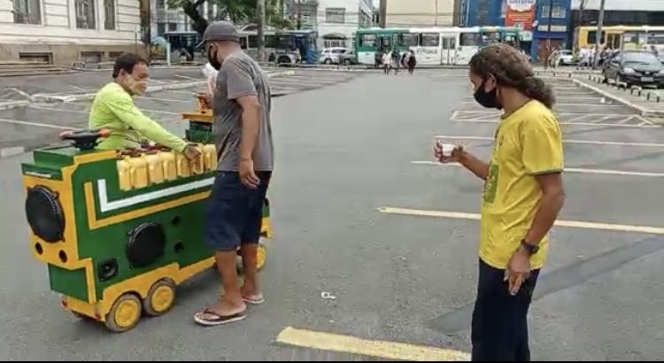 Eleito o melhor carrinho de café de Salvador