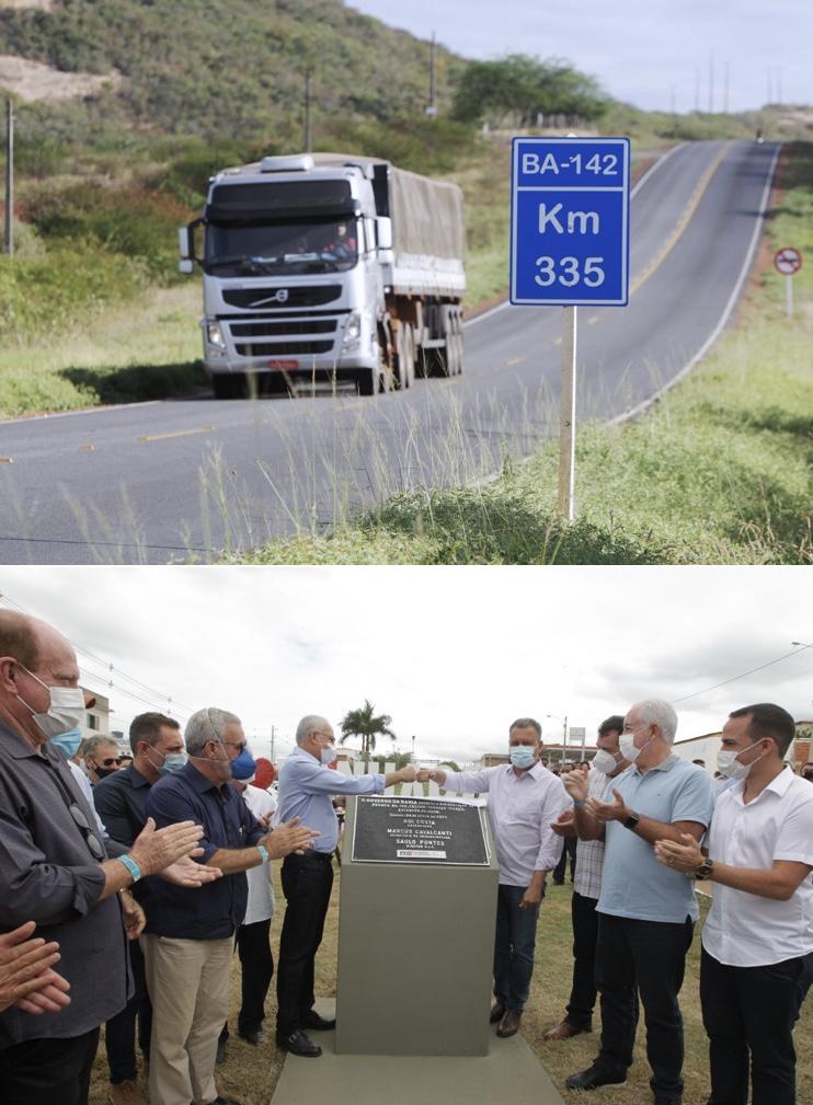 Rui entrega requalificação de mais de 24 quilômetros da BA-142 entre Tanhaçu e Ituaçu