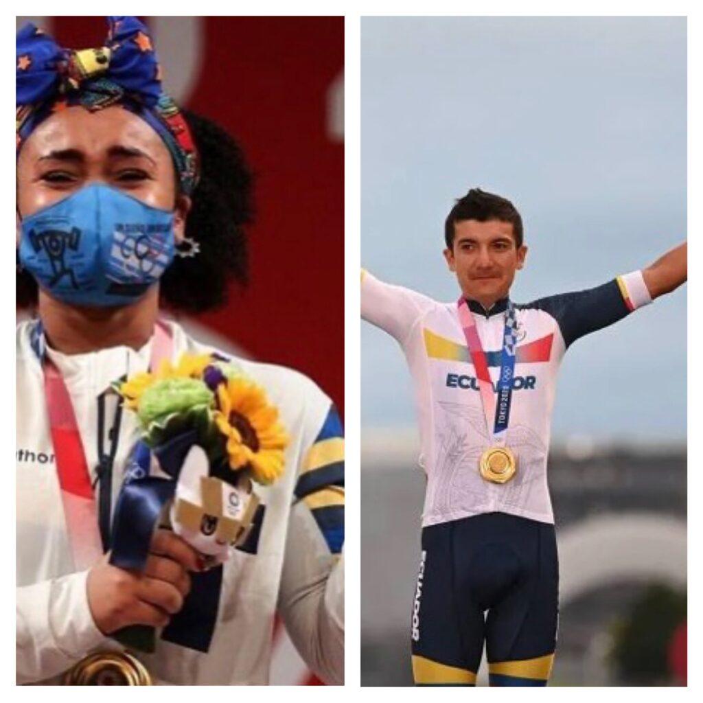 Dois heróis ganham as duas únicas medalhas do Equador em Olimpíadas