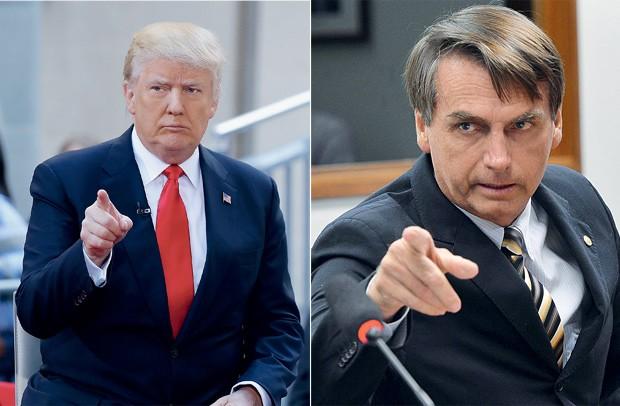 Donald Trump vai ajudar Jair Bolsonaro a vencer eleições de 2022